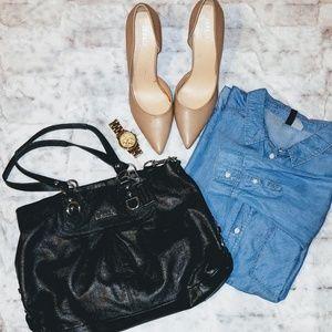 Gorgeous COACH Ashley Leather Sachel Bag